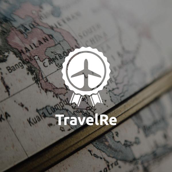 로고 디자인   TravelRe 로고(심...   라우드소싱 포트폴리오