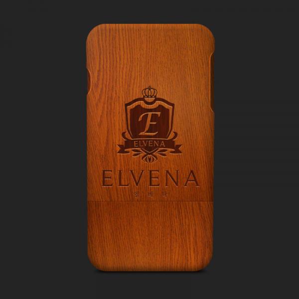 로고 + 명함 | 엘베나 ELVENA(대문자 소... | 라우드소싱 포트폴리오