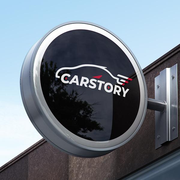 로고 디자인 | CarStory | 라우드소싱 포트폴리오
