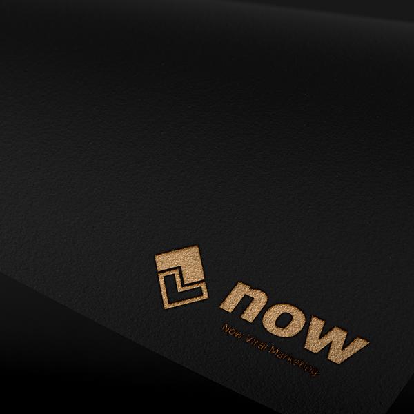로고 + 명함   나우바이럴   라우드소싱 포트폴리오