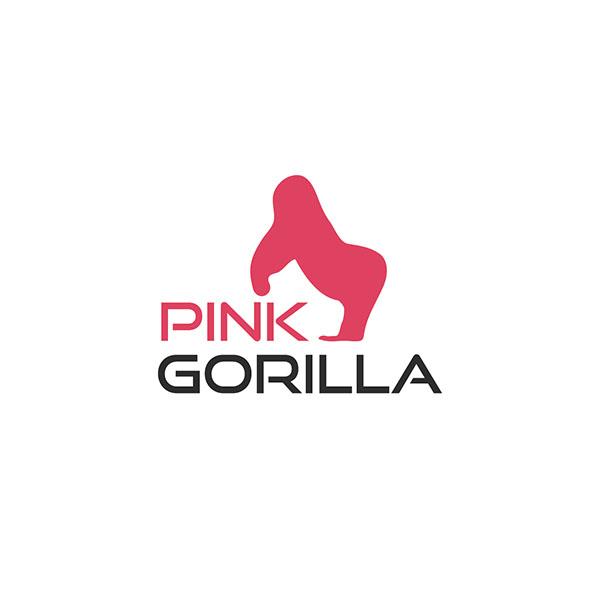 로고 디자인 | 핑크고릴라 로고 디자인 의뢰 | 라우드소싱 포트폴리오