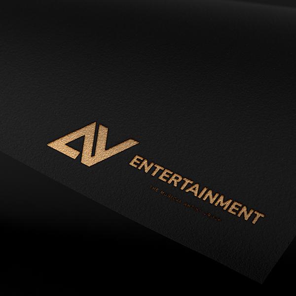 로고 + 명함 | AY엔터테인먼트 로고디자... | 라우드소싱 포트폴리오