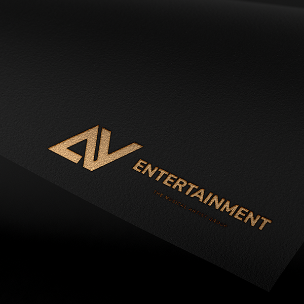 로고 + 명함   AY엔터테인먼트    라우드소싱 포트폴리오
