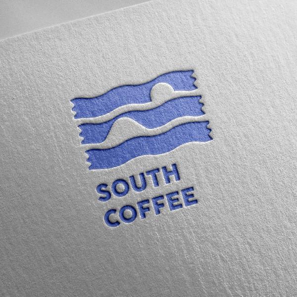 로고 디자인 | 사우스커피 | 라우드소싱 포트폴리오
