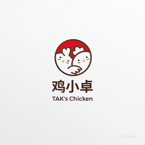 로고 + 간판 | TAK's Chicken | 라우드소싱 포트폴리오
