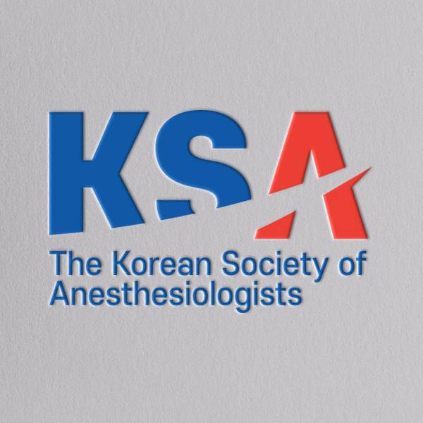 로고 디자인   대한마취통증의학회(KSA)   라우드소싱 포트폴리오