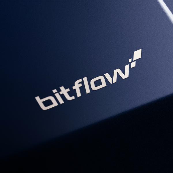 로고 디자인   Bitflow   라우드소싱 포트폴리오