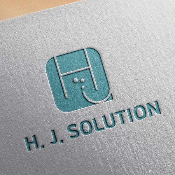 로고 디자인 | H.J.SOLUTION ... | 라우드소싱 포트폴리오