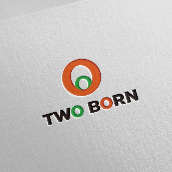 로고 + 간판 | TWO BORN CHIC... | 라우드소싱 포트폴리오
