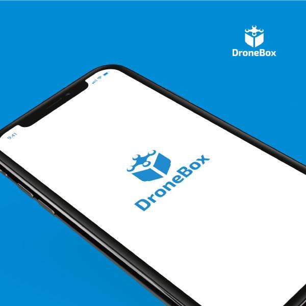 로고 디자인 | 드론박스 로고 디자인 의뢰 | 라우드소싱 포트폴리오