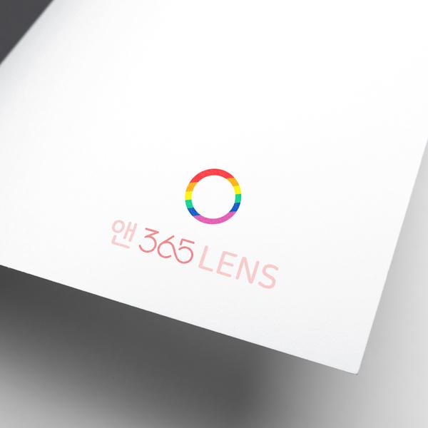 로고 디자인 | 앤365렌즈 | 라우드소싱 포트폴리오