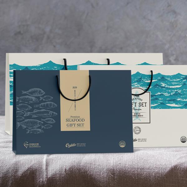 패키지 디자인 | 연어 및 선어 선물세트 ... | 라우드소싱 포트폴리오