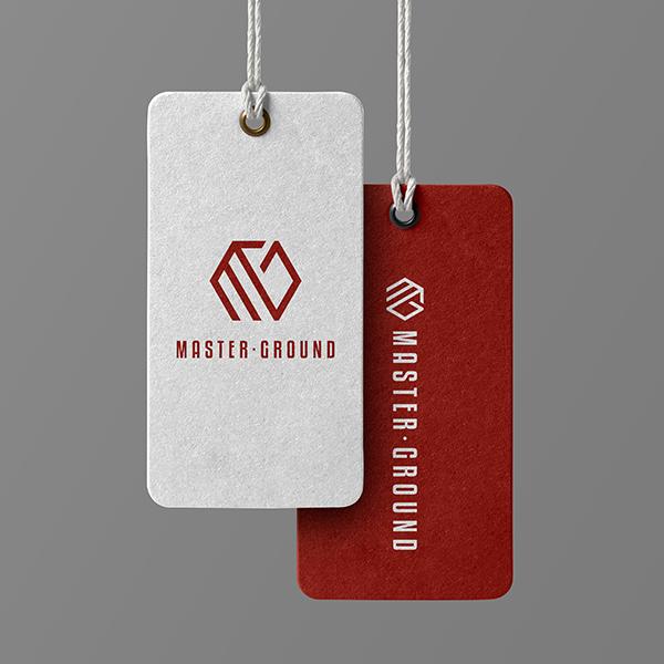 로고 + 명함   마스터그라운드   라우드소싱 포트폴리오