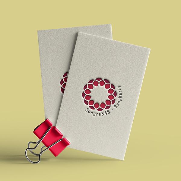 로고 디자인 | 산딸기제품관련 로고디자인 의뢰 | 라우드소싱 포트폴리오