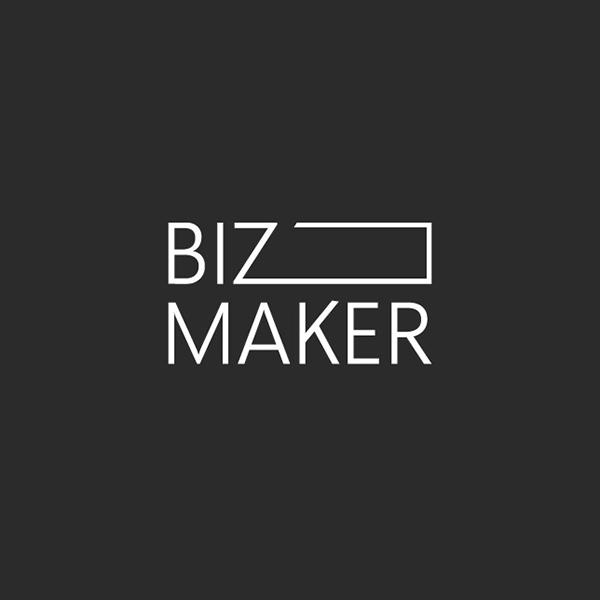 로고 + 간판   주식회사 비즈메이커   라우드소싱 포트폴리오