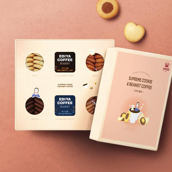 패키지 디자인   (주)신라명과 쿠키 & ...   라우드소싱 포트폴리오