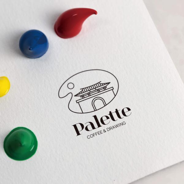 로고 + 명함 | 경주읍성에있는 Palet... | 라우드소싱 포트폴리오