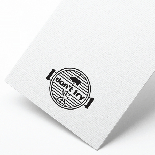 로고 + 간판   돈프라이   라우드소싱 포트폴리오