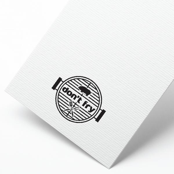 로고 + 간판 | 돈프라이 | 라우드소싱 포트폴리오