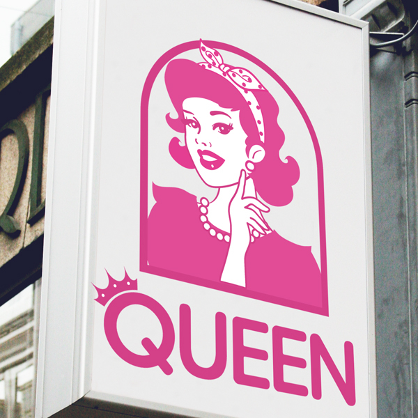로고 디자인 | 여성보세 옷가게 로고 디... | 라우드소싱 포트폴리오