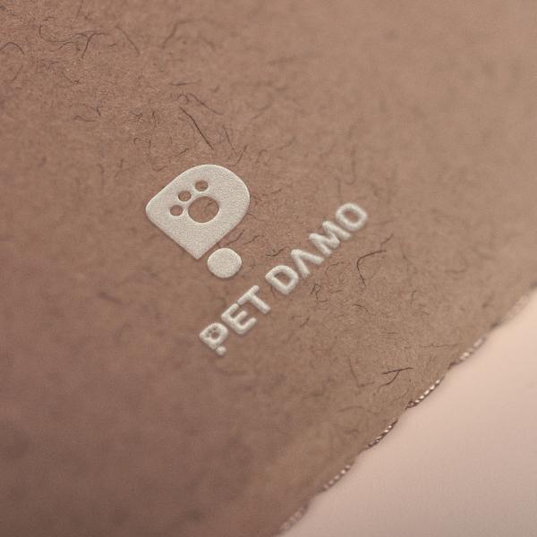로고 디자인 | PETDAMO | 라우드소싱 포트폴리오