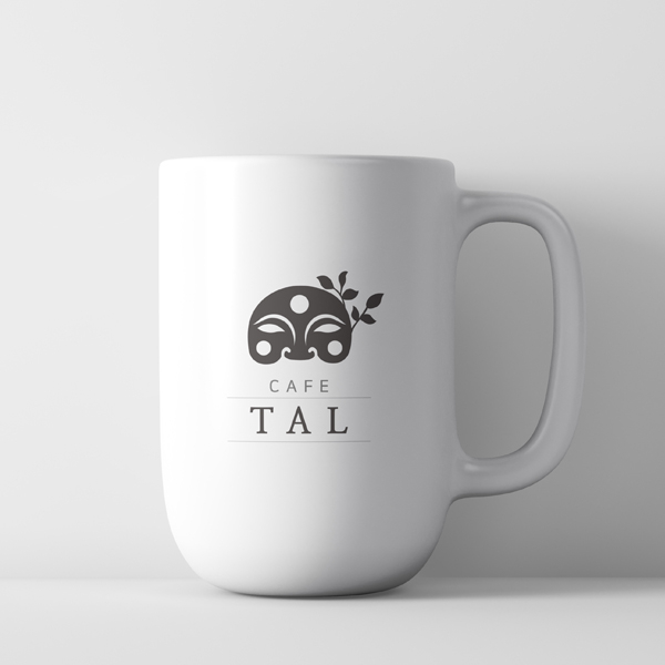 로고 디자인 | 전통차 카페 로고 디자인 의뢰 | 라우드소싱 포트폴리오