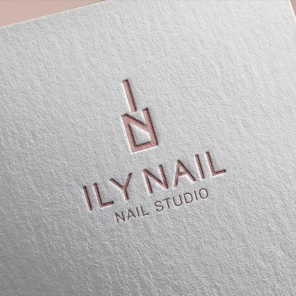 로고 디자인 | ILY NAIL | 라우드소싱 포트폴리오