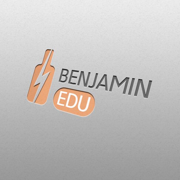 로고 + 명함   벤자민 에듀   라우드소싱 포트폴리오