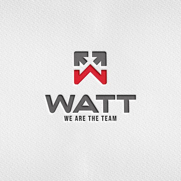로고 + 간판 | WATT 물류 플랫폼 로... | 라우드소싱 포트폴리오