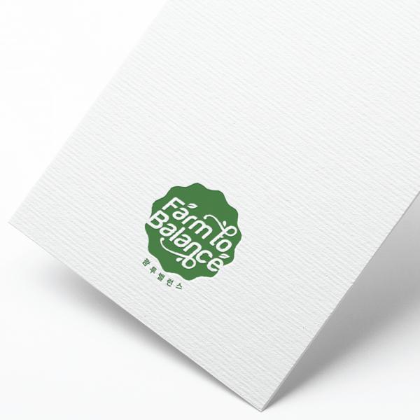 로고 디자인 | 팜투 밸런스 로고 디자인 의뢰 | 라우드소싱 포트폴리오