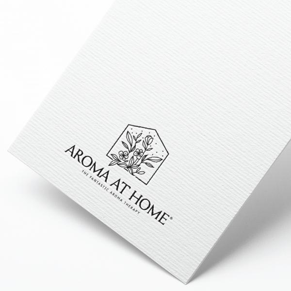 로고 디자인 | 아로마앳홈 로고 디자인 | 라우드소싱 포트폴리오