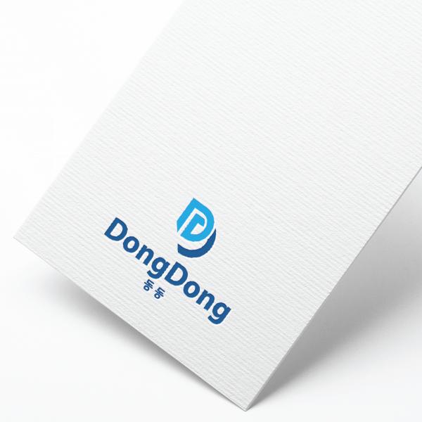 로고 + 명함   동동   라우드소싱 포트폴리오