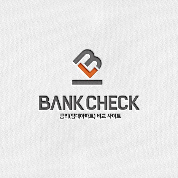 로고 디자인 | 뱅크체크 | 라우드소싱 포트폴리오