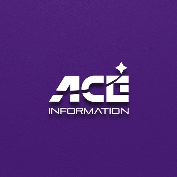 로고 + 명함   에이스정보통신   라우드소싱 포트폴리오