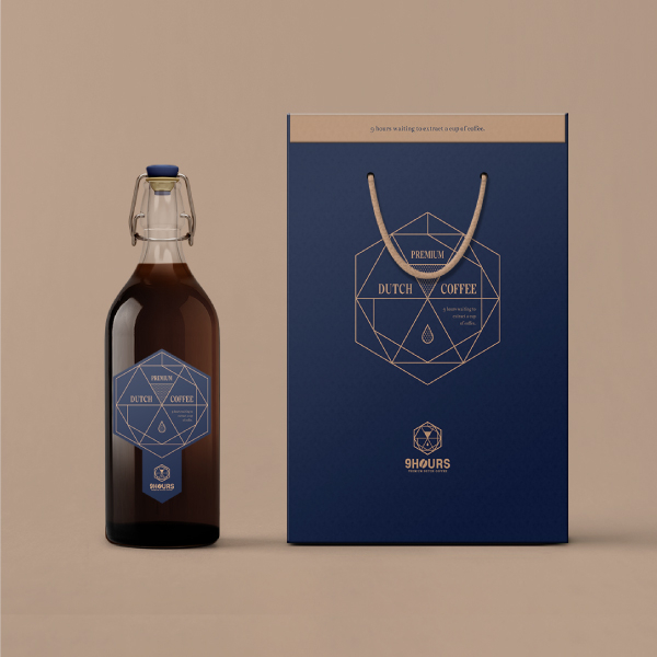 패키지 디자인 | 9hours | 라우드소싱 포트폴리오