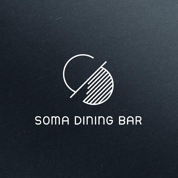 로고 + 명함   Soma dining bar   라우드소싱 포트폴리오