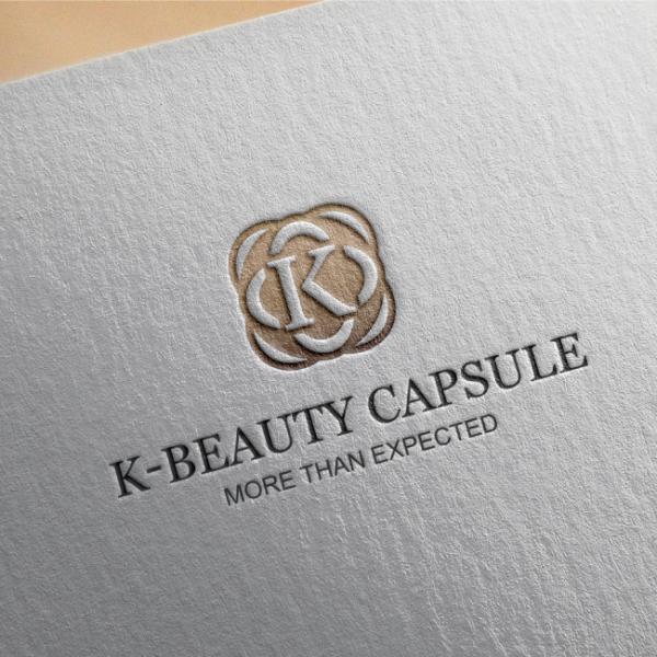 로고 디자인   (주) K 뷰티캡슐   라우드소싱 포트폴리오