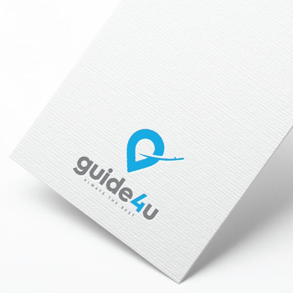 로고 디자인 | Guide4u 로고 디자인 | 라우드소싱 포트폴리오