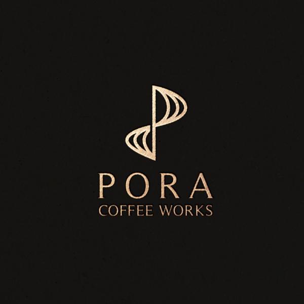 로고 + 명함 | 포라 커피 웍스(PORA CO... | 라우드소싱 포트폴리오