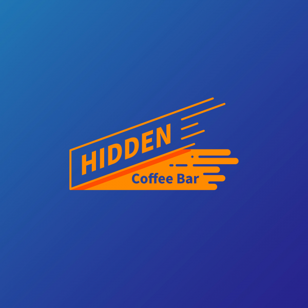 로고 디자인 | 히든커피바 | 라우드소싱 포트폴리오
