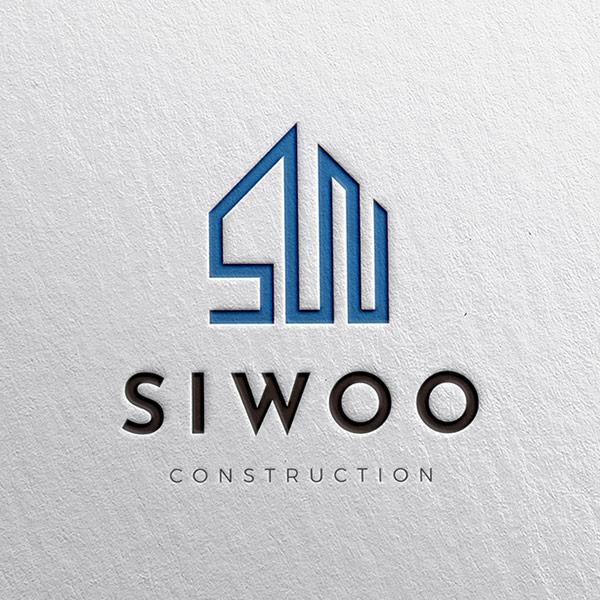 로고 + 명함   시우그룹   라우드소싱 포트폴리오