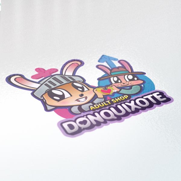 로고 + 명함   돈키호테   라우드소싱 포트폴리오