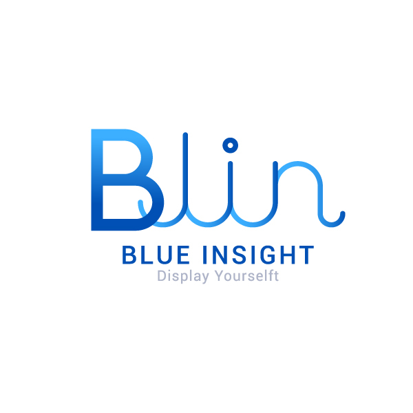 로고 디자인 | 블루인사이트(BLUE INSI... | 라우드소싱 포트폴리오