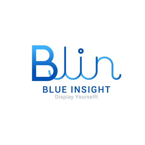 로고 디자인   블루인사이트(BLUE INSI...   라우드소싱 포트폴리오