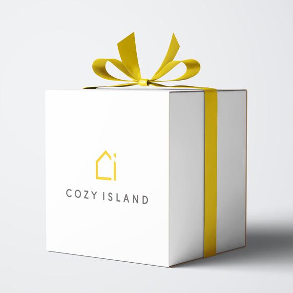 로고 디자인 | cozy island | 라우드소싱 포트폴리오