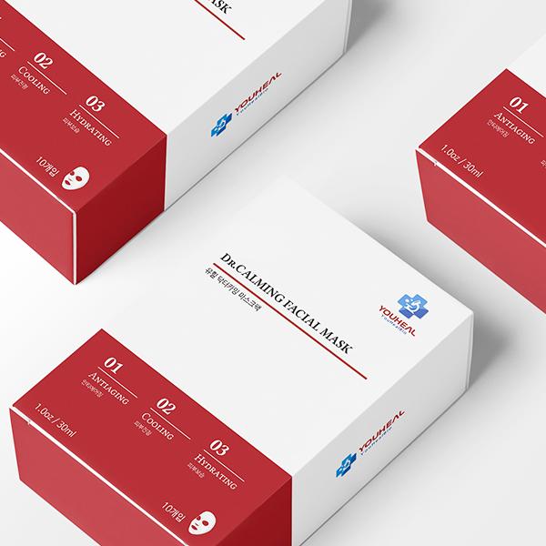 패키지 디자인 | 마스크팩 파우치 & 단상... | 라우드소싱 포트폴리오