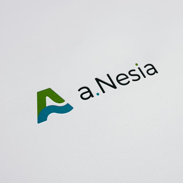 로고 + 명함 | 에이네시아 | 라우드소싱 포트폴리오