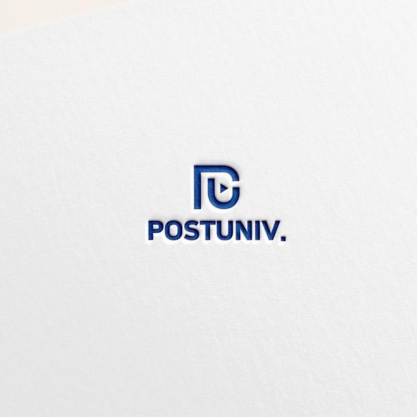 로고 + 명함 | 포스트유니브 로고 리뉴얼... | 라우드소싱 포트폴리오