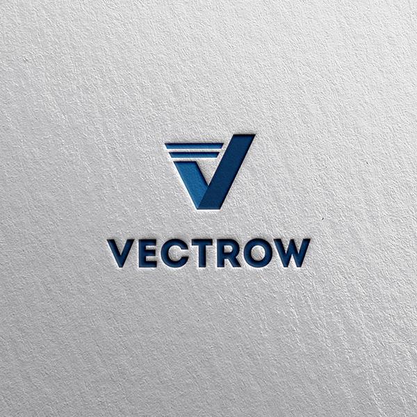 로고 + 명함 | Vectrow Co., Ltd | 라우드소싱 포트폴리오
