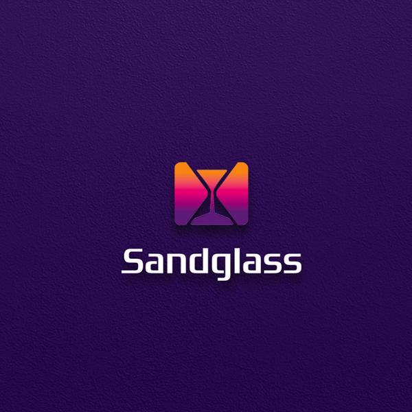 로고 디자인 | 샌드글래스 글자 로고 디... | 라우드소싱 포트폴리오